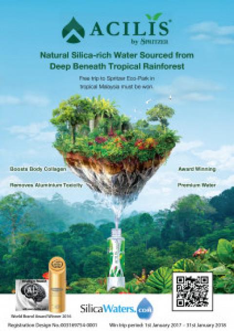 Prize trip to ACILIS by Spritzer Eco-Park in Malaysia