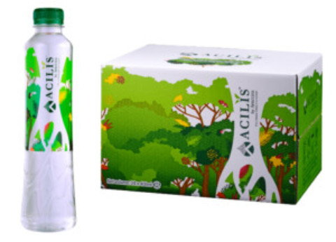 Best value options for Acilis silica-rich rain forest water