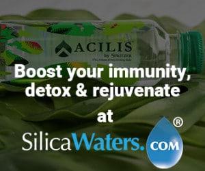 boost your immunity, detox & rejuvenate at silica waters.com