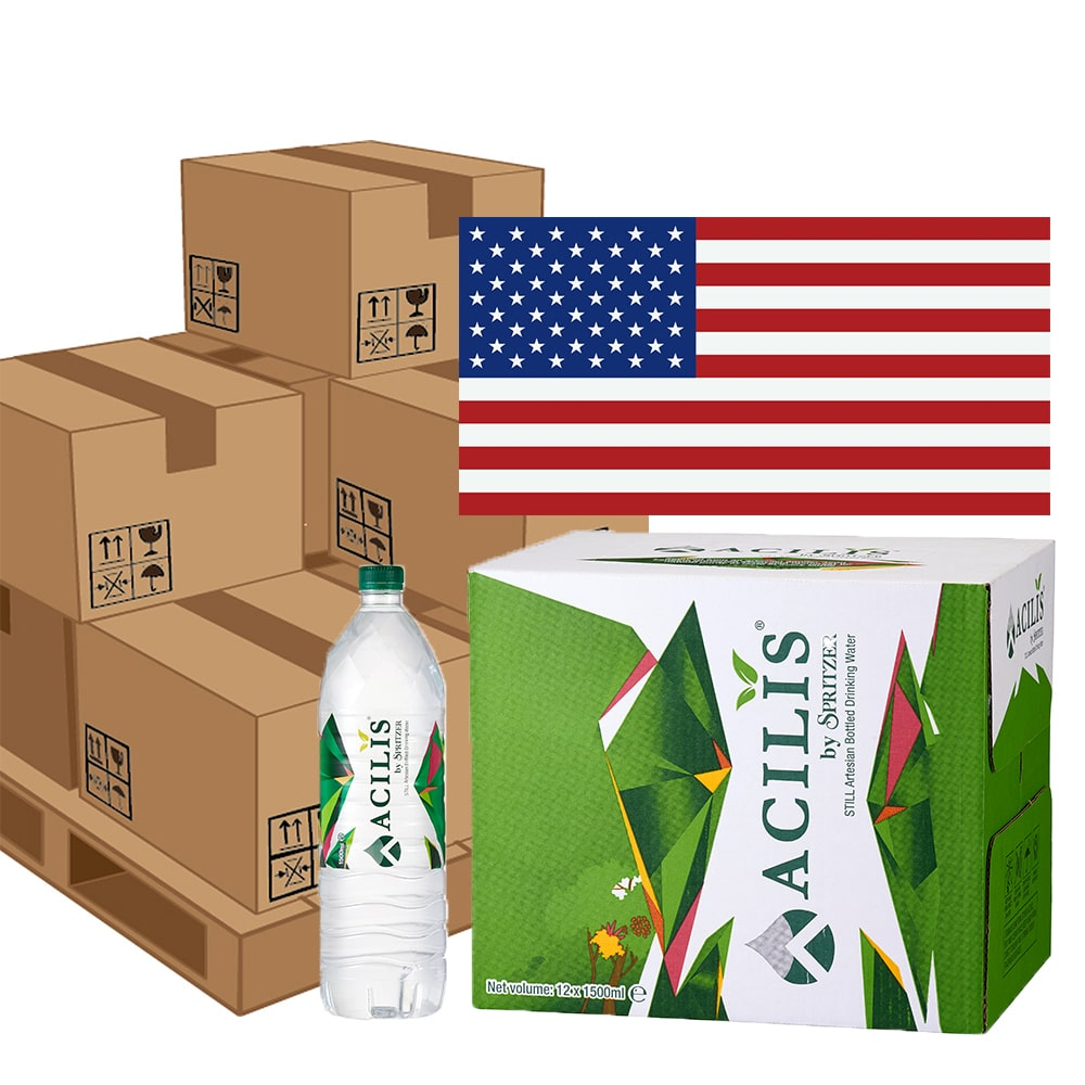 Acilis by pallet to USA